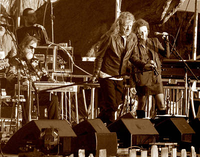 Robert Plant Photograph - Robert Plant 5627 Sepia by Dennis Jones