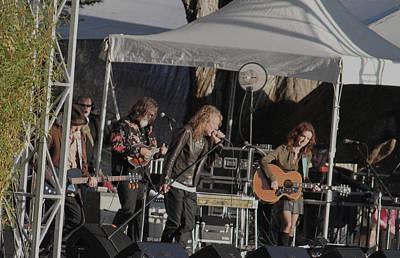 Robert Plant Photograph - Robert Plant Boj Farewell 5454 by Dennis Jones