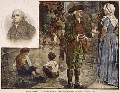 Robert Raikes (1735-1811) Art Print by Granger