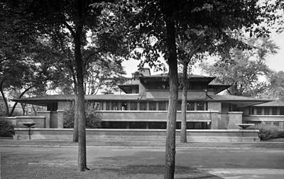 Robie House Was Designed In 1910 Art Print by Everett