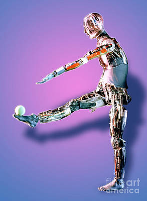 Robot Mannequin Art Print by DOE / Science Source