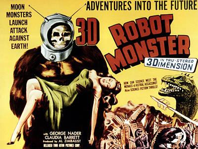 1953 Movies Photograph - Robot Monster, 1953 by Everett
