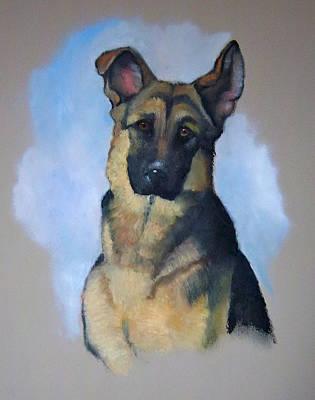 Rob's Dog Art Print by Joyce Geleynse