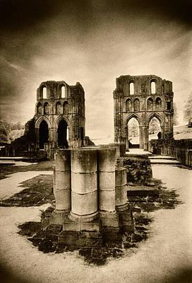 Photograph - Roche Abbey by Simon Marsden