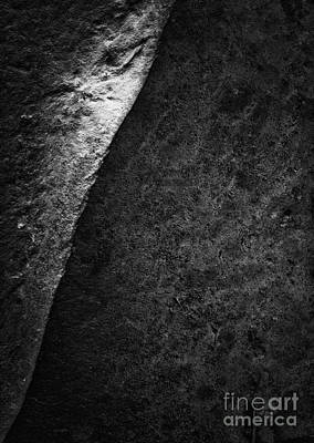 Photograph - Rock Abstract by David Waldrop