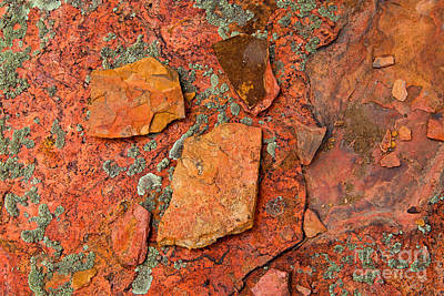 Rock Abstract Iv Art Print