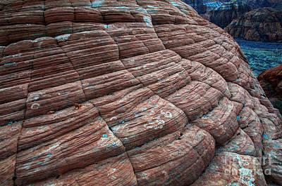 Snow Canyon State Park Photograph - Rock Art by Bob Christopher