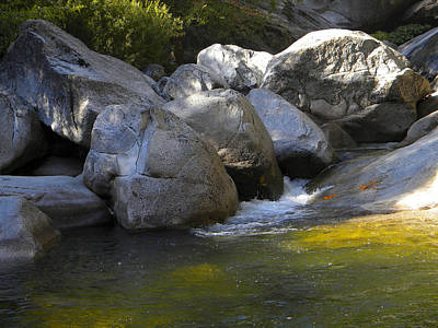 Dappled Light Photograph - Rock Creek by Frank Wilson