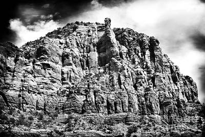 Photograph - Rock Face by John Rizzuto