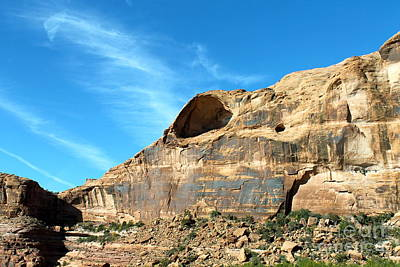 Photograph - Rock Formation Along The Colorado River by Pamela Walrath