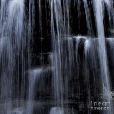 Rock Glen Water Falls Art Print