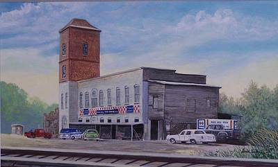Painting - Rock Hill Feed And Supply  Sold by Jack Bolin