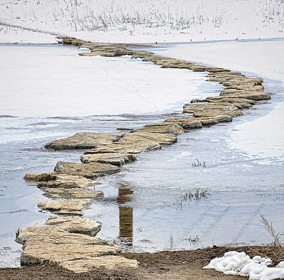 Photograph - Rock Lake Crossing by James BO Insogna