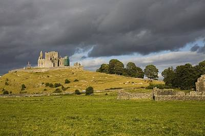 Rock Of Cashel, Cashel, County Art Print by Richard Cummins