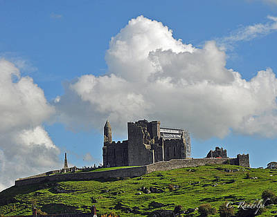 Photograph - Rock Of Cashel by Cheri Randolph