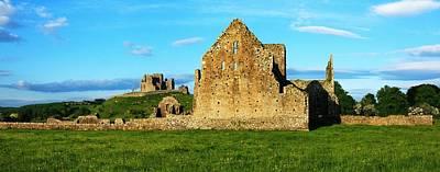 Rock Of Cashel, Hore Abbey, Cashel Art Print by Peter Zoeller
