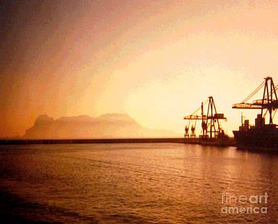 Pillars Of Hercules Photograph - Rock Of Gibraltar by Patricia Januszkiewicz