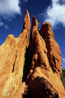 Photograph - Rock Spires Garden Of The Gods by John Brink