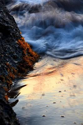 Rock Sunset Art Print