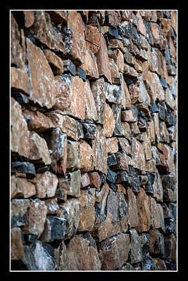 Photograph - Rock Wall by Miguel Capelo