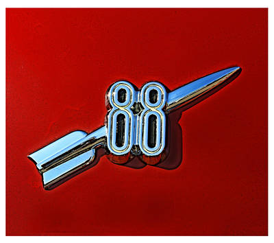Digital Art - Rocket 88 by Geoff Strehlow