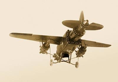 Rocket-powered Plane, 1928 Art Print by Detlev Van Ravenswaay