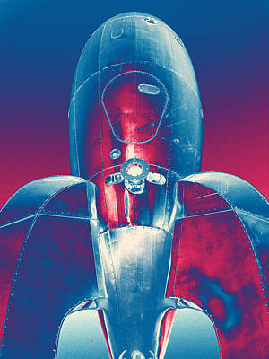 Rocket Ship 2 Art Print by Samuel Sheats