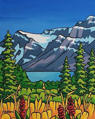 Painting - Rockies by Christine Karron