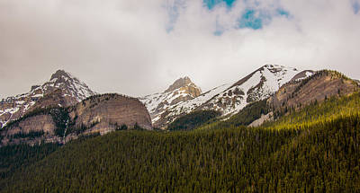 Photograph - Rockies In The Clouds by Darren Langlois
