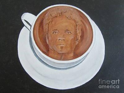 Rockin'coffee Art Print