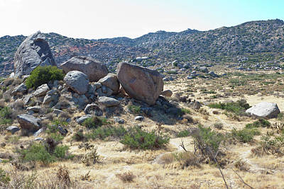 Photograph - Rockpile by Peter Dyke