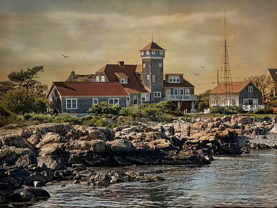 Rockport Ma Photograph - Rockport Coast by Robin-Lee Vieira