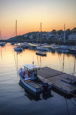Rockport Dawn Art Print by Matthew Green