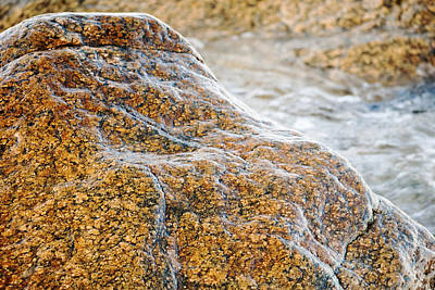 Photograph - Rocks By The Water by Frank Winters
