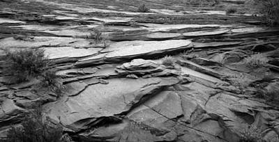 Zion National Park Photograph - Rocks In Black And White At Zion National Park by Twenty Two North Photography