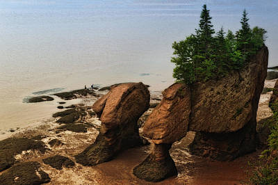 Photograph - Rocks Of Ages by Michel Legare