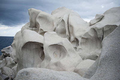 Rocks Of Capo Testa, Santa Teresa Di Gallura Art Print