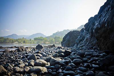 Photograph - Rocky Beach Sunrise by Anthony Doudt