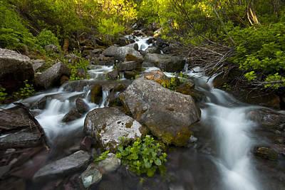 Photograph - Rocky Cascades by Ryan Heffron