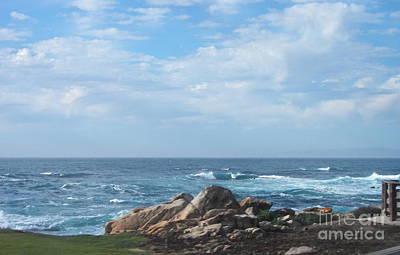 Photograph - Rocky Coast by Carol  Bradley