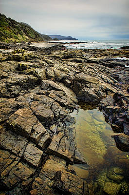 Photograph - Rocky Coast by Heather Applegate
