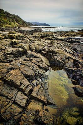 Photograph - Rocky Coast by Heather Applegate