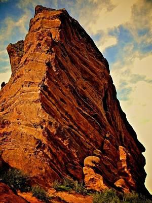 Rocky Colorado  Print by Zenia Rodriguez
