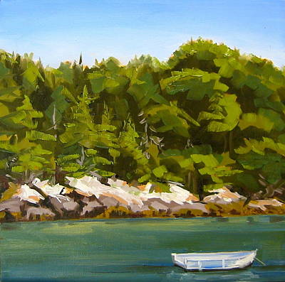 Painting - Rocky Cove Maine by Sarah Gayle Carter