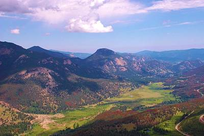Photograph - Rocky Mountain National Park by Dany Lison