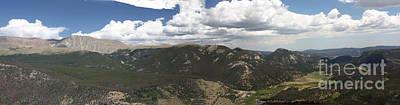 Photograph - Rocky Mountain National Park Panorama by David Bearden