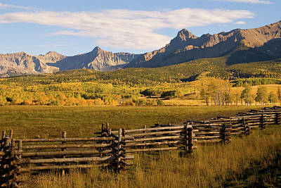 Rocky Mountain Ranch Art Print