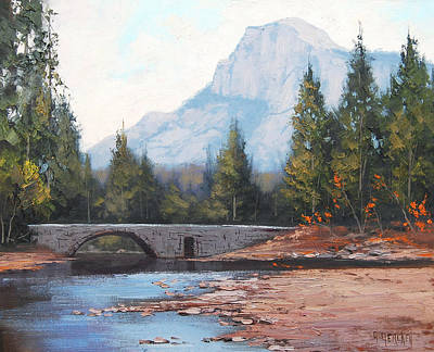 Colorado Mountain Stream Painting - Rocky Mountains by Graham Gercken
