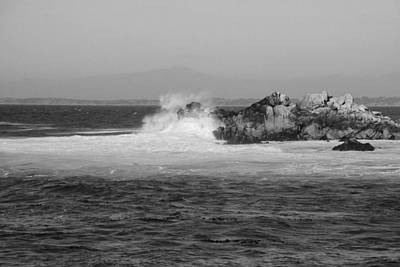 Photograph - Rocky Outcrop Waves by Kathleen Grace