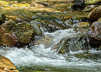 Art Print featuring the photograph Rocky River by Lydia Holly